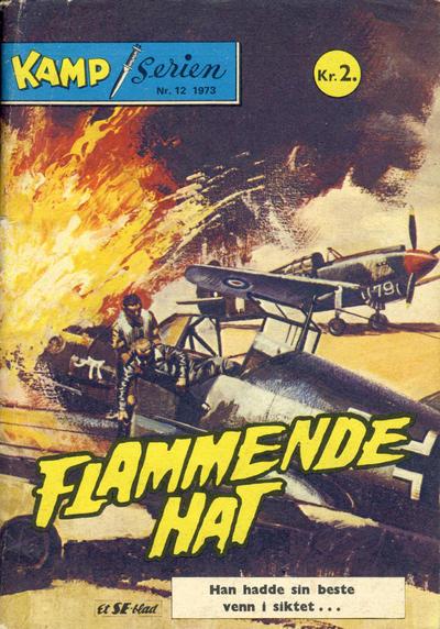 Cover for Kamp-serien (Serieforlaget / Se-Bladene / Stabenfeldt, 1964 series) #12/1973