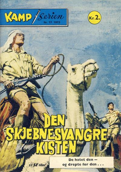 Cover for Kamp-serien (Serieforlaget / Se-Bladene / Stabenfeldt, 1964 series) #17/1973