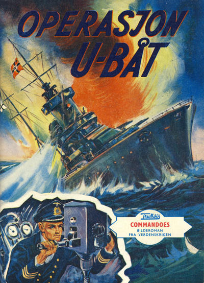 Cover for Commandoes (Fredhøis forlag, 1973 series) #38