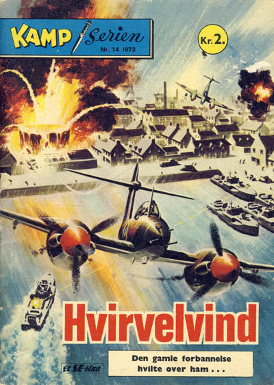 Cover for Kamp-serien (Serieforlaget / Se-Bladene / Stabenfeldt, 1964 series) #14/1973