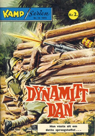 Cover for Kamp-serien (Serieforlaget / Se-Bladene / Stabenfeldt, 1964 series) #13/1973