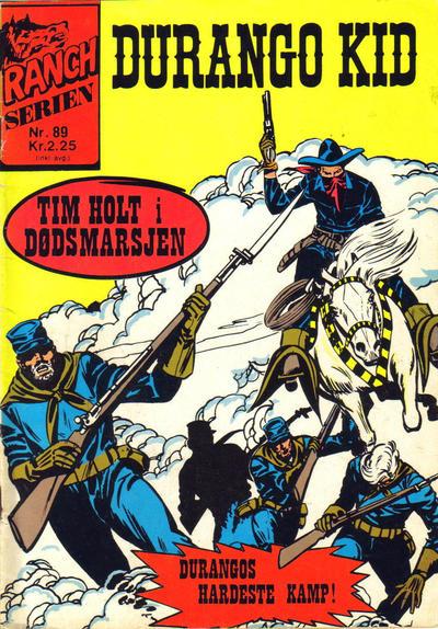 Cover for Ranchserien (Illustrerte Klassikere / Williams Forlag, 1968 series) #89