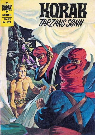 Cover for Korak (Illustrerte Klassikere / Williams Forlag, 1966 series) #29