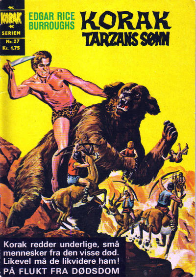 Cover for Korak (Illustrerte Klassikere / Williams Forlag, 1966 series) #27