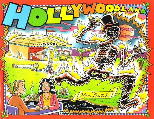 Cover for Hollywoodland (Fantagraphics, 1987 series)
