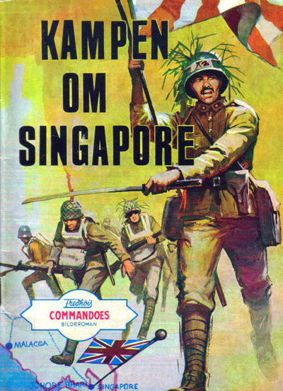 Cover for Commandoes (Fredhøis forlag, 1973 series) #130