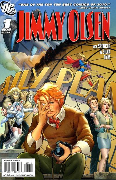 Cover for Jimmy Olsen (DC, 2011 series) #1