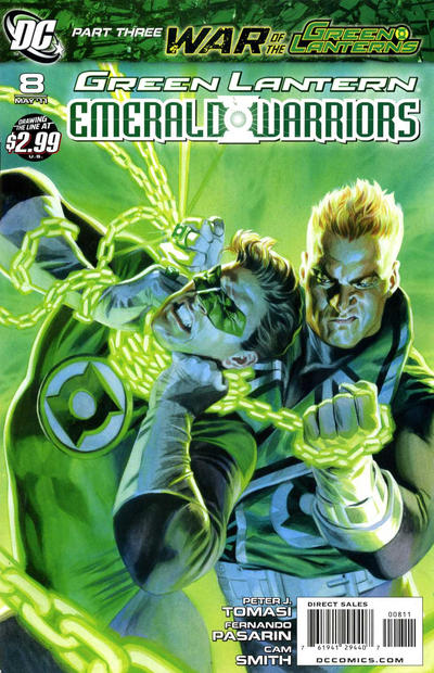 Cover for Green Lantern: Emerald Warriors (DC, 2010 series) #8