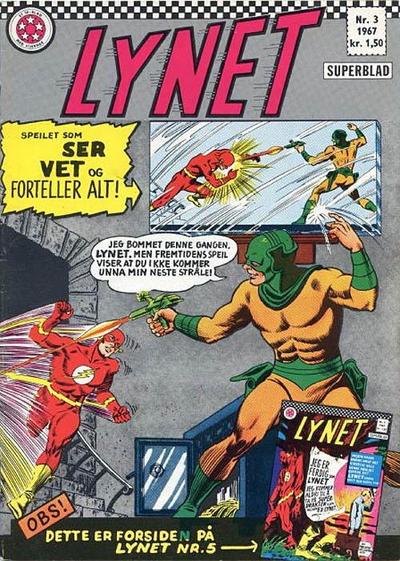 Cover for Lynet (Serieforlaget / Se-Bladene / Stabenfeldt, 1967 series) #3/1967