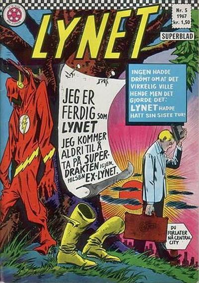 Cover for Lynet (Serieforlaget / Se-Bladene / Stabenfeldt, 1967 series) #5/1967