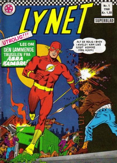 Cover for Lynet (Serieforlaget / Se-Bladene / Stabenfeldt, 1967 series) #1/1968