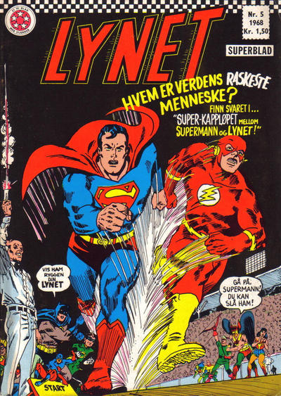 Cover for Lynet (Serieforlaget / Se-Bladene / Stabenfeldt, 1967 series) #5/1968