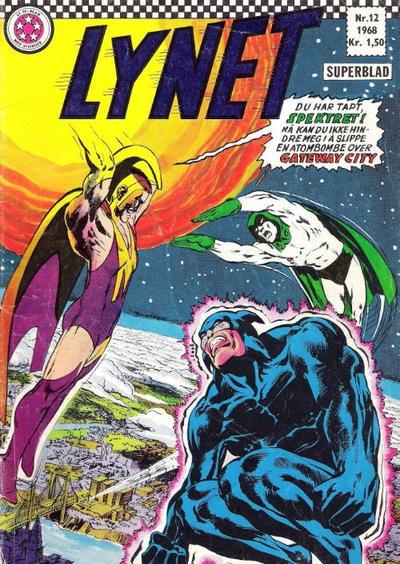 Cover for Lynet (Serieforlaget / Se-Bladene / Stabenfeldt, 1967 series) #12/1968