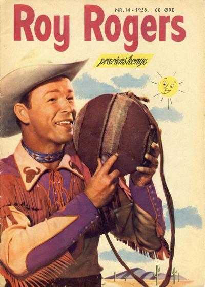 Cover for Roy Rogers (Serieforlaget / Se-Bladene / Stabenfeldt, 1954 series) #14/1955