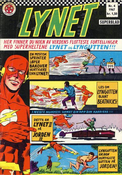 Cover for Lynet (Serieforlaget / Se-Bladene / Stabenfeldt, 1967 series) #4/1967