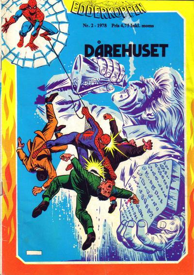 Cover for Edderkoppen (Atlantic Forlag, 1978 series) #2/1978