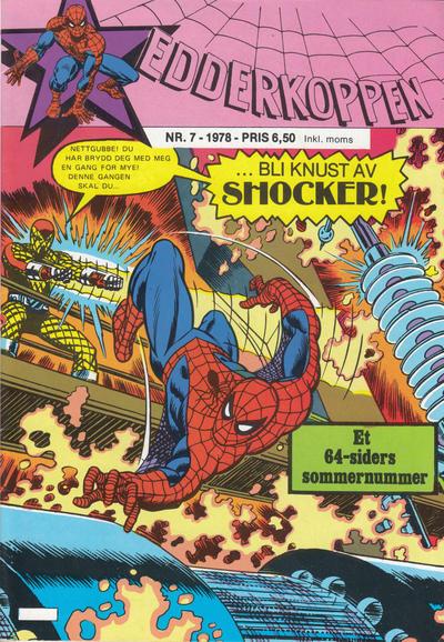 Cover for Edderkoppen (Atlantic Forlag, 1978 series) #7/1978