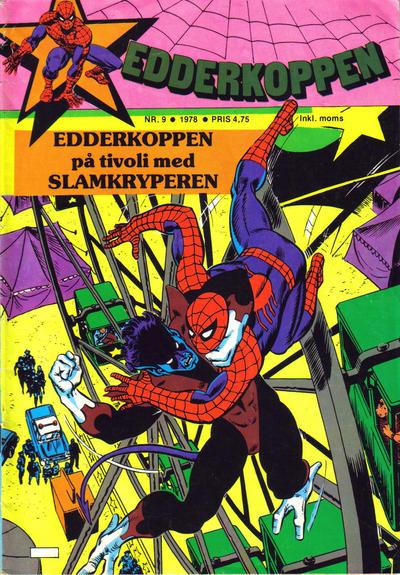 Cover for Edderkoppen (Atlantic Forlag, 1978 series) #9/1978
