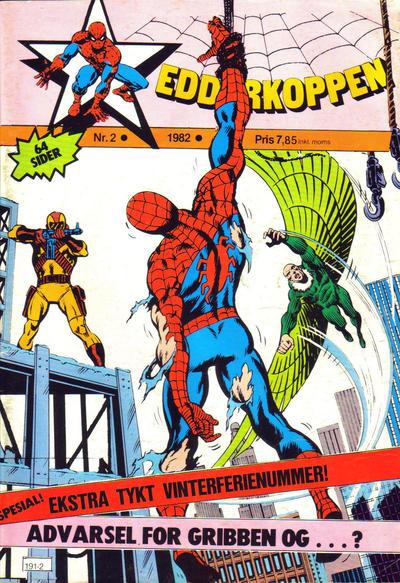 Cover for Edderkoppen (Atlantic Forlag, 1978 series) #2/1982