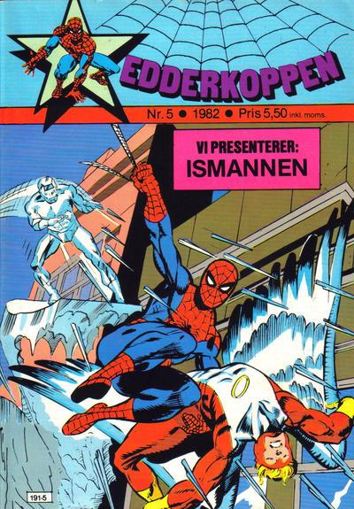 Cover for Edderkoppen (Atlantic Forlag, 1978 series) #5/1982