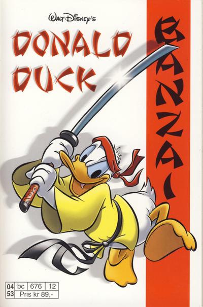 Cover for Donald Duck Tema pocket; Walt Disney's Tema pocket (Hjemmet / Egmont, 1997 series) #Donald Duck Banzai
