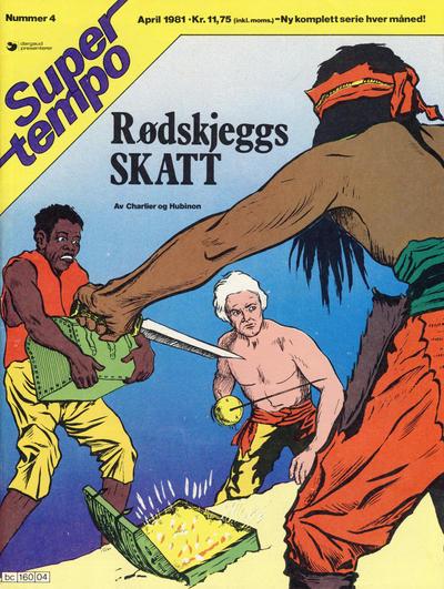 Cover for Supertempo (Hjemmet / Egmont, 1979 series) #4/1981