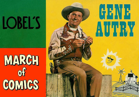 Cover for March of Comics (Western, 1946 series) #104 [No-Ad Version]