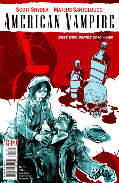 Cover for American Vampire (DC, 2010 series) #11