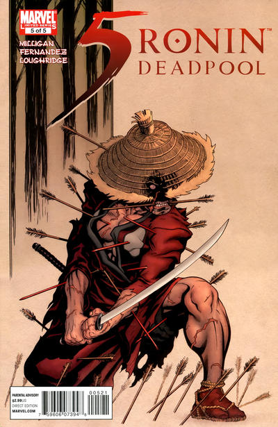 Cover for 5 Ronin (Marvel, 2011 series) #5 [Base Issue Cover]