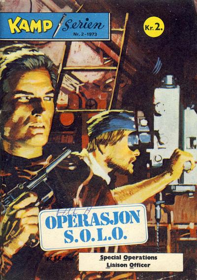 Cover for Kamp-serien (Serieforlaget / Se-Bladene / Stabenfeldt, 1964 series) #2/1973
