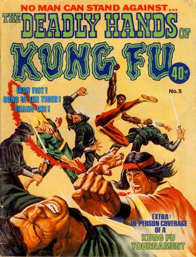 Cover for The Deadly Hands of Kung Fu (K. G. Murray, 1975 series) #5