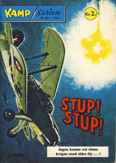 Cover for Kamp-serien (Serieforlaget / Se-Bladene / Stabenfeldt, 1964 series) #50/1972