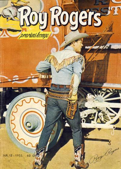 Cover for Roy Rogers (Serieforlaget / Se-Bladene / Stabenfeldt, 1954 series) #12/1955