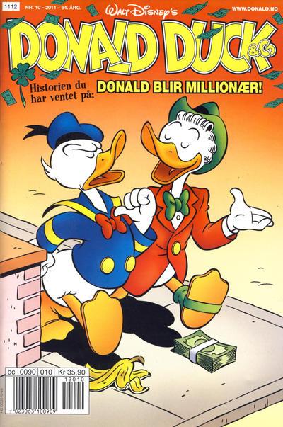 Cover for Donald Duck & Co (Hjemmet / Egmont, 1948 series) #10/2011