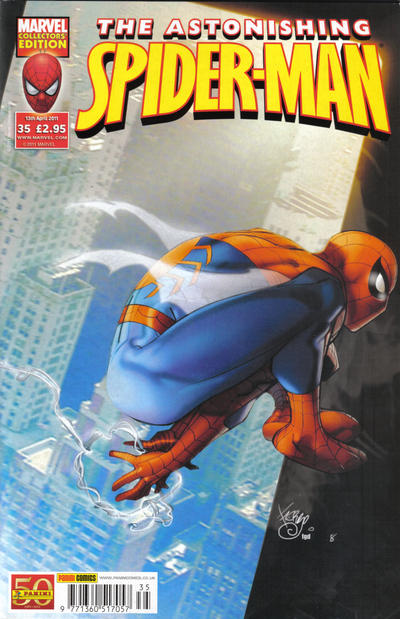 Cover for Astonishing Spider-Man (Panini UK, 2009 series) #35