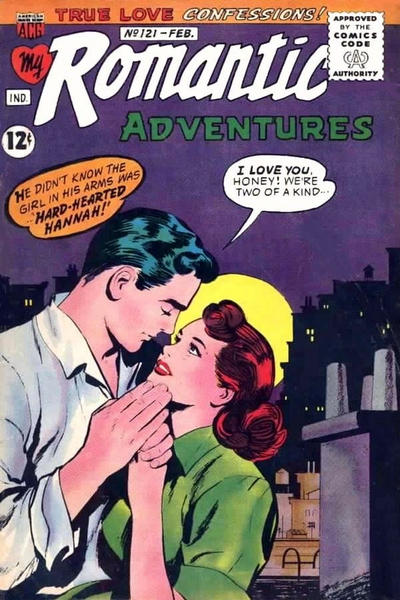Cover for My Romantic Adventures (American Comics Group, 1956 series) #121