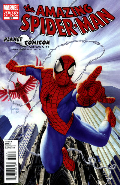 Cover for The Amazing Spider-Man (Marvel, 1999 series) #623