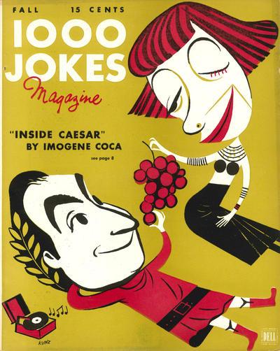 Cover for 1000 Jokes (Dell, 1939 series) #64