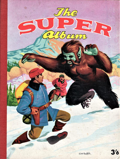 Cover for The Super Album (Alexander Moring, 1956 series) #[nn]