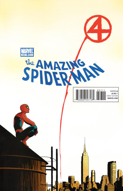 Cover for The Amazing Spider-Man (Marvel, 1999 series) #657