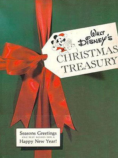 Cover for Walt Disney's Christmas Treasury (Abbeville Press, 1978 series)