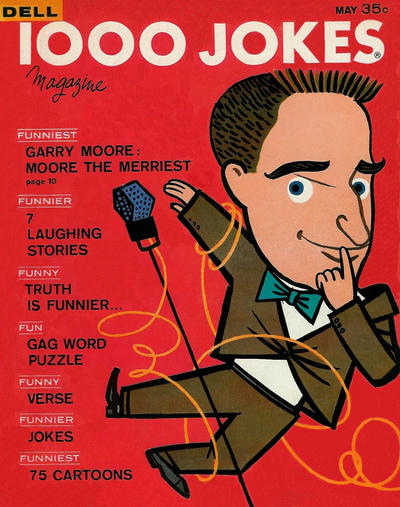 Cover for 1000 Jokes (Dell, 1939 series) #101