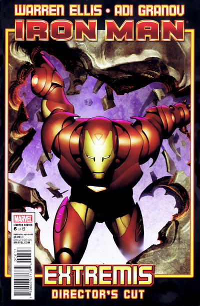 Cover for Iron Man: Extremis Director's Cut (Marvel, 2010 series) #6