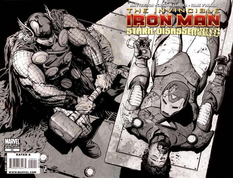 Cover for Invincible Iron Man (Marvel, 2008 series) #20