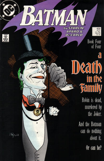 Cover for Batman (DC, 1940 series) #429 [Direct]