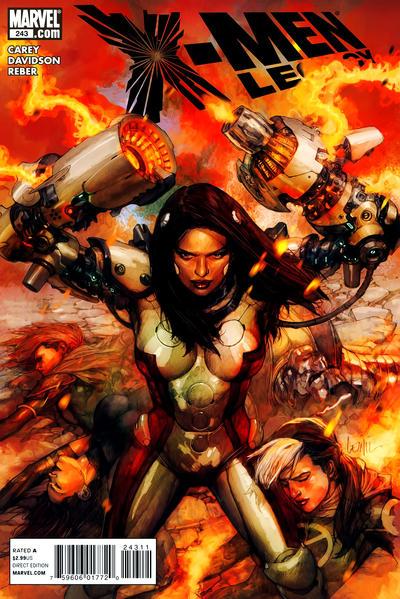 Cover for X-Men: Legacy (Marvel, 2008 series) #243