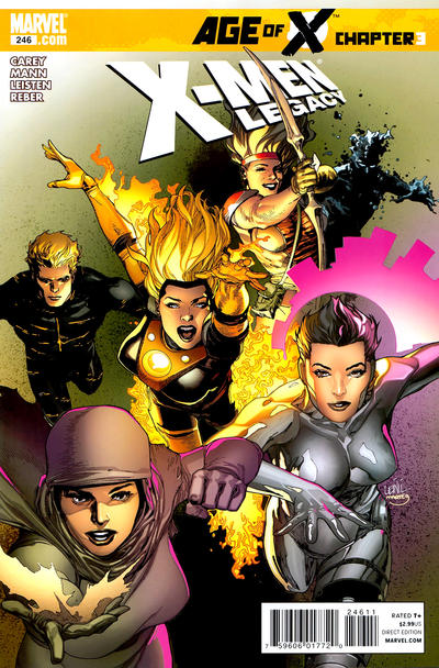 Cover for X-Men: Legacy (Marvel, 2008 series) #246