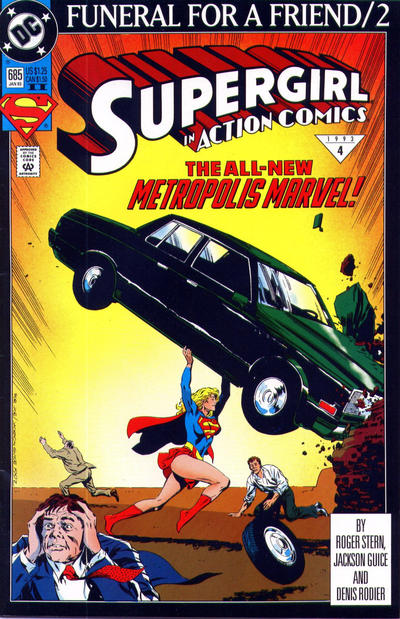 Cover for Action Comics (DC, 1938 series) #685 [Direct]