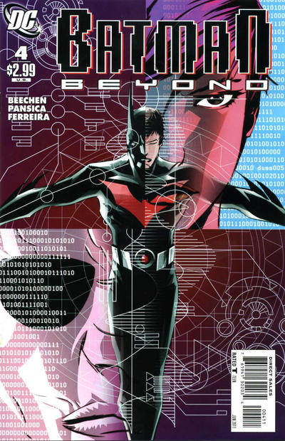 Cover for Batman Beyond (DC, 2011 series) #4