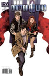 Cover for Doctor Who (IDW, 2011 series) #1 [Cover RIB]